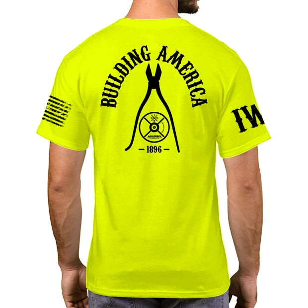 High Visibility Short Sleeve - Reel And Pliers