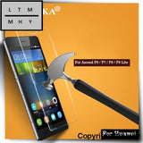 0.3Mm Ultra Thin Tempered Glass For Huawei Ascend P6 P7 P8 Lite Hd Clear 9H Anti-Scratch Screen