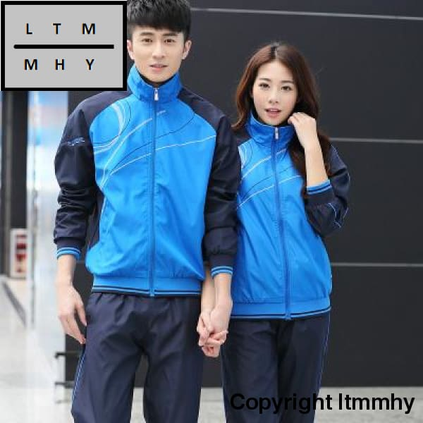 2 Pcs Sport Suit Pants Jackets Women Mens Sports Suits Wear Running Clothes For Men Set Fitness Gym