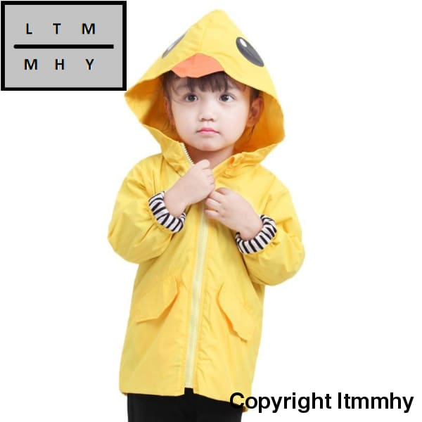 2017 Spring Autumn Baby Boys Girl Clothes Cartoon Pattern Fashion Zipper Hooded Jacket Outwear Boy