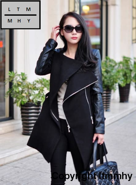 2017 Time-Limited New Casual Full Coats Abrigos Mujer Europe And The In Winter Street Jacket Spell