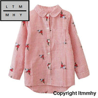 2017 Toddler Baby Kids Girl Flower Tops T-Shirt Button Down Shirt Outfits Clothes Children