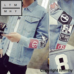 2018 Mens Denim Jacket High Quality Fashion Jeans Jackets Slim Fit Casual Streetwear Vintage Jean
