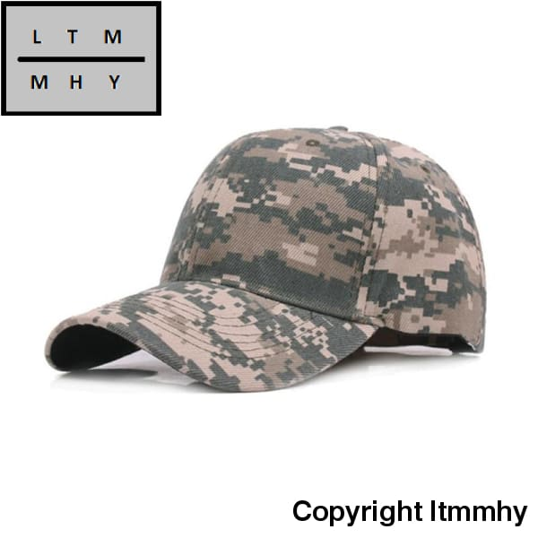 Baseball Cap Ultrakey Army Military Camo Casquette Camouflage Hats For Hunting Fishing Outdoor
