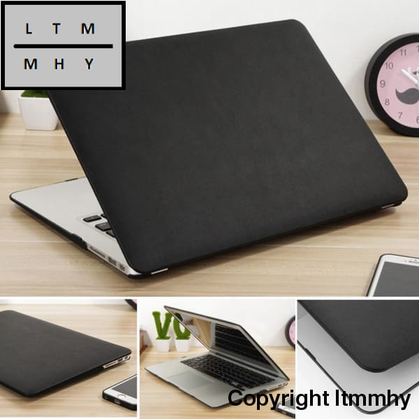 Carry360 Pu Leather Case For Apple Macbook Pro 13 Air 11 Retina 12 13.3 15 Laptop Bag Cover Mac Book