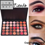 Cosmetic Matte Eye Shadow 35 Colors Make Up Set Nudes Naked Pallete Eyeshadow Palette Brighten