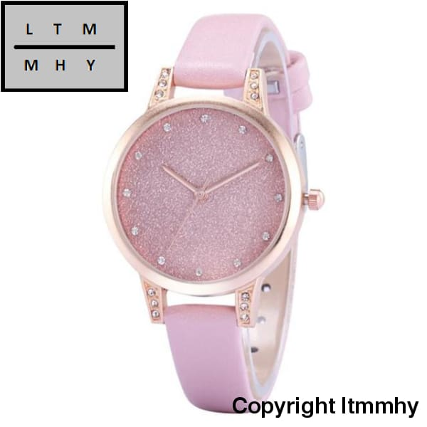 Fashion Ladies Wrist Watches Elegant Women Quartz Wrist Watch Lady Womens Crystals Dress Watch Clock