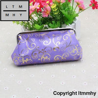 Fashion Lady Small Wallet Purple