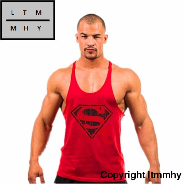 713dc864ffbbd ... Golds Stringer Tank Top Men Bodybuilding Clothing And Fitness Mens  Sleeveless Shirt Vests Cotton ...