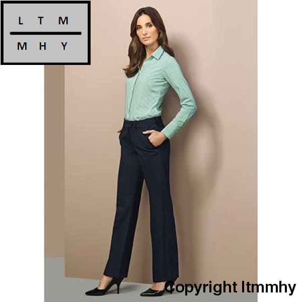Ladies Mid Raise Adjustable Corporate Wear Pant
