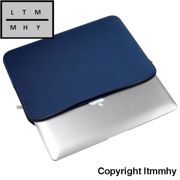 Laptop Notebook Sleeve Case Bag Cover For Macbook Air/pro 13 Inch Pc Blue