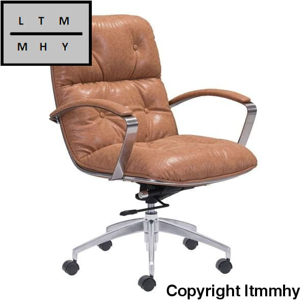 Ltmmhy Office Chair Vintage Coffee