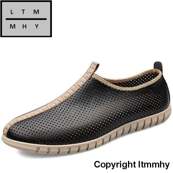 Merkmak New Summer Men Shoes 2015 Genuine Leather Breathable Casual Moccasins Loafers High Quality