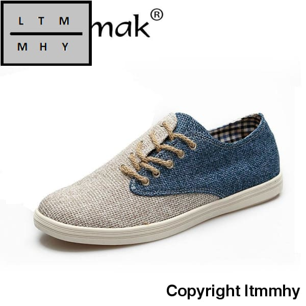 Merkmak Summer Causal Hemp Men Shoes High Quality Loafer Driving Comfortable Flats Footwear Low