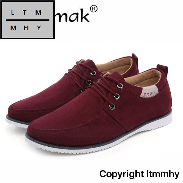 Merkmak Trendy Leisure Men Shoes Luxury Brand Breathable Comfortable For Male Footwear Mens Flats
