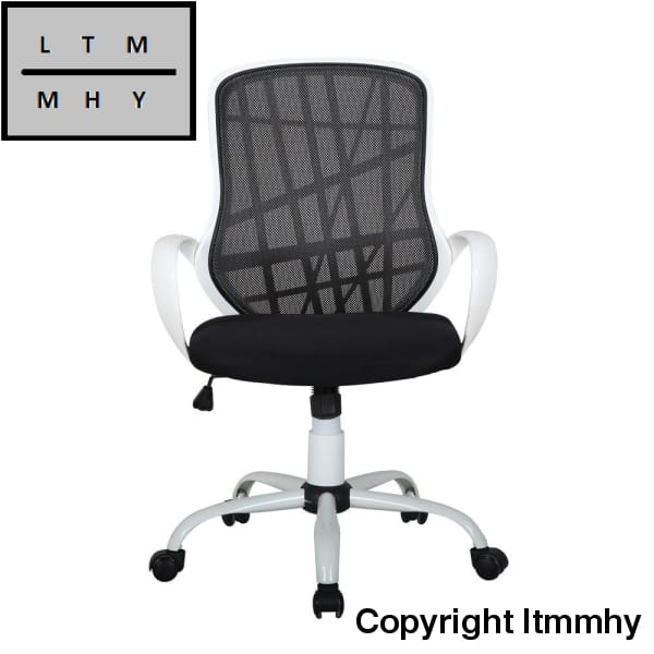 Mid-Back Anomaly Grid Office Chair With Shake For (White) Ltmmhy Brand