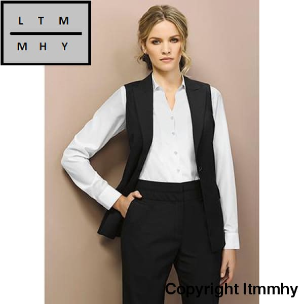 Mid Rise Piped Ltmmhy Band Corporate Pant