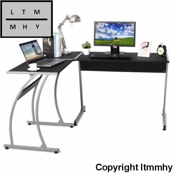 Modern 3-Piece Home Office L-Shaped Corner Computer Desk For Ltmmhy Brand