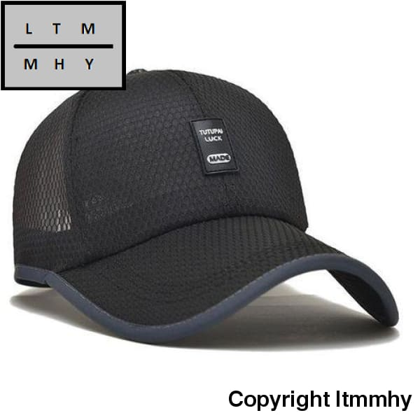 Outdoor Fashion Casual Baseball Hat For Men&women Black