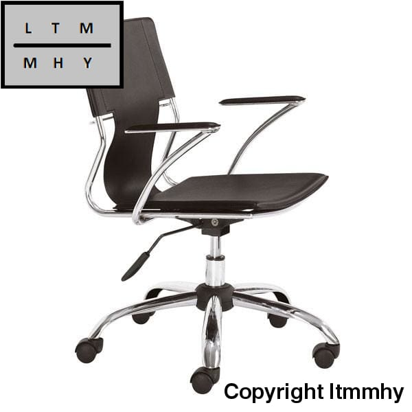 Traditional Look Office Chair Espresso Ltmmhy Brand