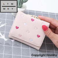 Xiniu Wallet Female Large Capacity Cute Card Hold Short Purses Women Wallets For Credit Cards #6M