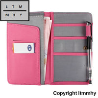 Xiniu Women Card Holder Journey Travel Passport Holder Wallet Purse Id Card Organizer Case ##ghyl