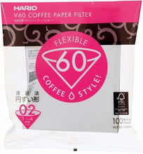 POUR OVER V60 PAPER FILTER BY HARIO