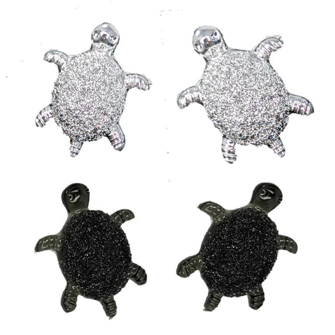 Tiny Turtle Earrings (Studs) - all colors