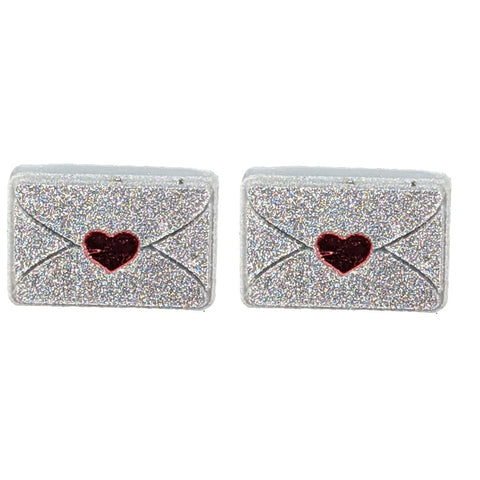 Envelope Earrings (Studs)