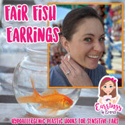Fair Fish Earrings (Dangles) - happy customer