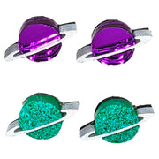 Planet Earrings (Studs) - all colors