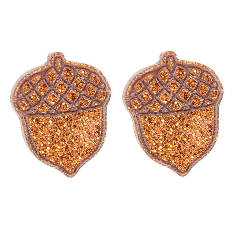 Acorn Earrings (Studs)