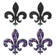 Fleur-de-lis Earrings (Studs)