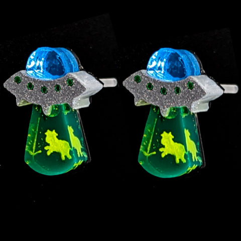 UFO Abduction Earrings (Studs)
