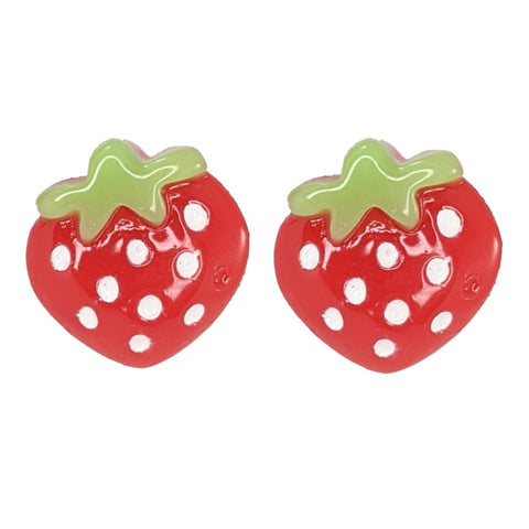 Strawberry Earrings (Studs)