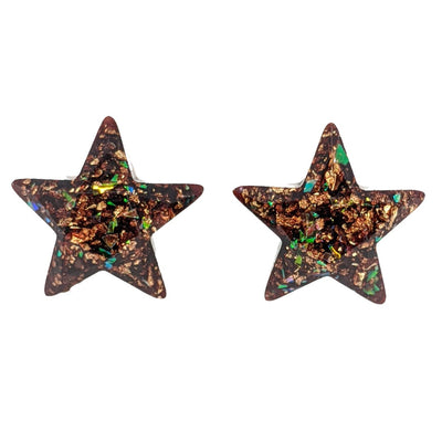 Galactic Star Earrings (Studs)