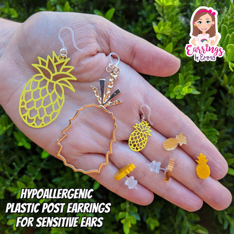 Pineapple Earrings (Dangles) - pineapple earrings