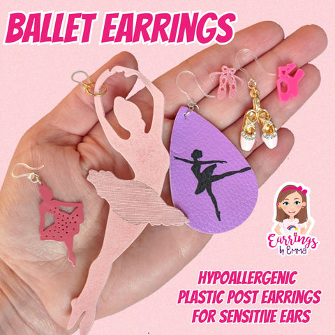Ballerina Earrings (Dangles)