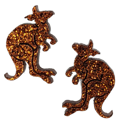 Kangaroo Earrings (Studs)