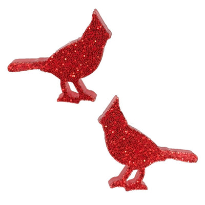 Cardinal Earrings (Studs)