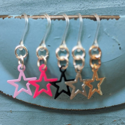Petite Star Earrings (Dangles) - all colors