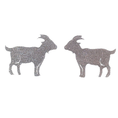 Goat Earrings (Studs)