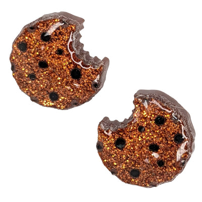 Cookie Bite Earrings (Studs)