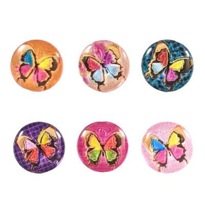 Ornate Butterfly Earrings (Studs) - all colors