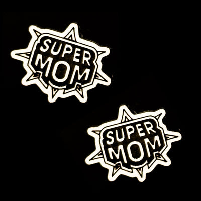 Super Mom Earrings (Studs)