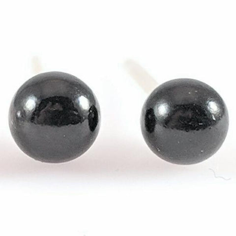 White & Black Pearls Earrings