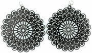 Whimsical Earrings (Dangles) - black