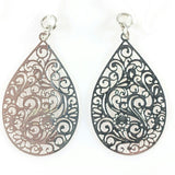 Paisley Teardrop Dangles (more colors)