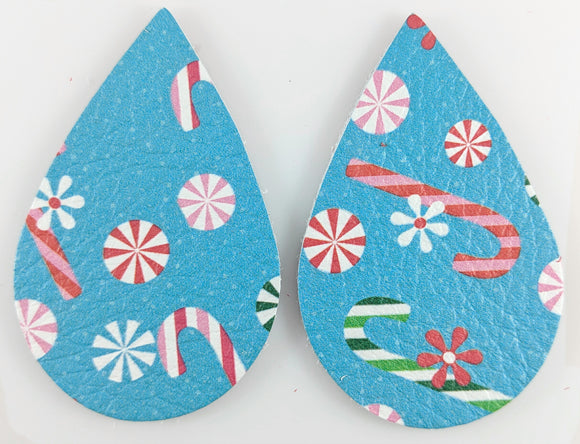 Christmas Candy Teardrops