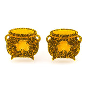 Pot of Gold Earrings (Studs) - gold